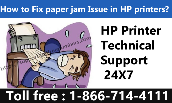 How to fix paper jam issue in HP Printer, HP Support Help 1